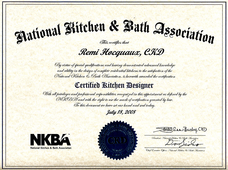 ... Kitchen And Bath Design Certification Part 56